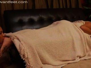 Adoración del pie dormido