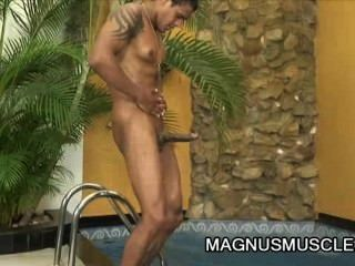 William carioaca latino dude going solo jerking off