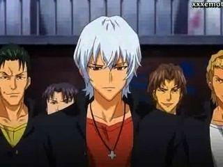 Anime degustación pene enorme y obtener facial