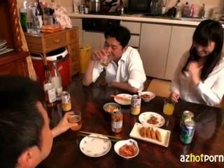 Hermosa esposa haruoka chisato estaba loco