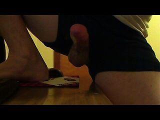 Dos orgasmos cum tiro de cerca en la cara