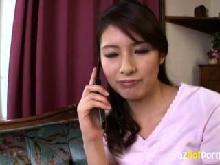 Hermosa asiática hermosa dama es tan caliente