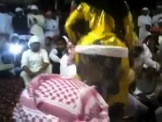 Árabe gran culo redonda butt bend más botín