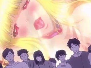 [Falara ♥ hentai] la doncella rubia es violada en gangbang monstruo