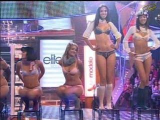 Supermodelo 2007 lencería (paloma bloyd, isabel cañete, magdalena pérez ..)