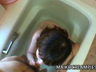 Kaoru kuriyama: milf oriental recibe sexo áspero