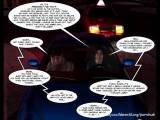 3D cómico: intenciones malévolas.Episodio 9