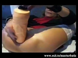 Extrema abuela gape anal !!