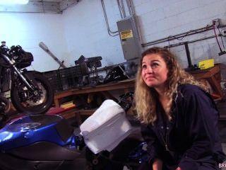 Oceanside motocicleta mecánico chupa marines gallo en la tienda