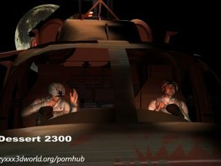 Animación 3d: invasión alienígena.episodio 1