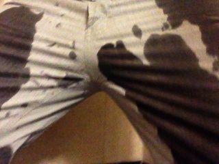Meando los pantalones en la ducha un montón de orina!