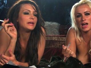 Jenna y dannii fumando entrevista