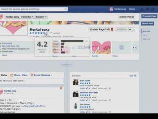 Página de fans de facebook hentaicomicsexy