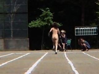 Versión japonesa desnuda de las Olimpiadas con adolescentes video