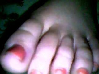Video # 41 pies de un ex mientras duerme