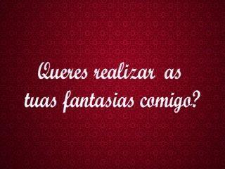 Diana cu de melancia realizamos una tua fantasia portugal tuga