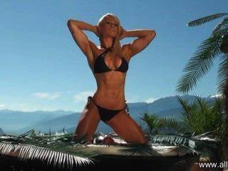 Todas las estrellas sommer fitness \u0026 sexy fotoshooting con bikini athletin marie