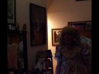 Mariquita carretilla de lengüeta viviendo mi vida visiblemente como un travieso bebé mariquita