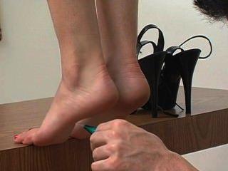 Cosquillas en los dedos de los pies