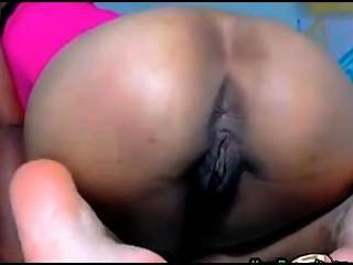 Chica de belleza farting webcam
