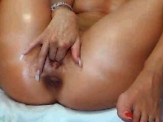 Webcam chica dedos su coño