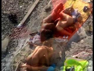 Sexo de la playa amateur # 104