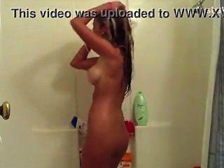 Bromear en la ducha sin fondo