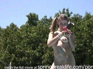 Show de desnudo en vivo