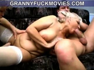 Salvaje cachonda amateur granny sopla joven