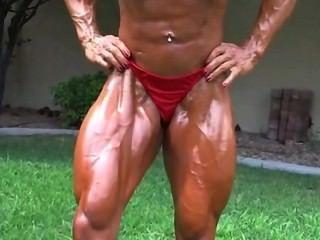 Jennifer \|Kink|fbb|enorme|musculatura femenina|cuerpo de la aptitud|mujer musculosa|Rrr|fetiche|Rrr|