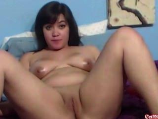 Me mira sexy asiática adolescente, faerydae, sacude mi culo perfecto joven y masturba