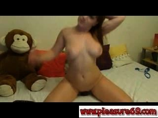 Consolador de la chica webcam fucker