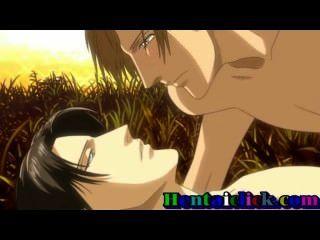 Guapo gay hentai hace el sexo