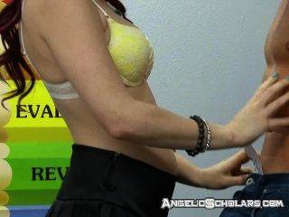 Sexo mientras el maestro está fuera