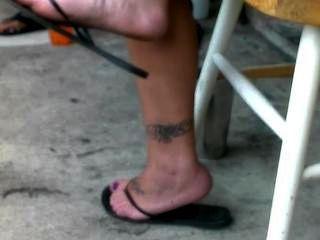 Sincero flip flops sexy pies