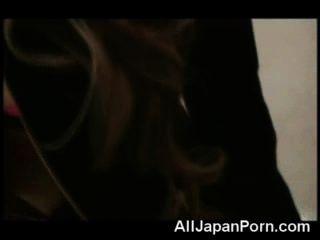 Cutie japonesa follada en pov!