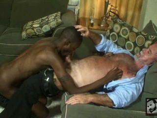 Papá y gran hombre dicked