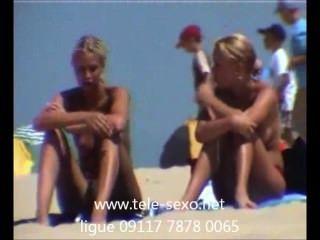 Lindas chicas rubias en la playa oculta cam tele sexo.net 09117 7878 0065