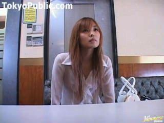 Sexo aficionado japonés en lugares públicos