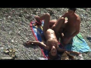 Masturbarse en la playa