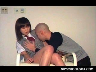 Preliminares asiáticos para la escuela secundaria tentadora