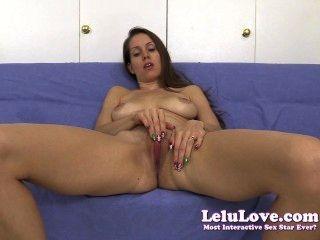 Lelu love pussy spreading joe cuenta atrás