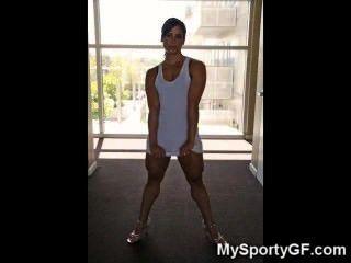 ¡Muchachas musculadas verdaderas calientes del gimnasio!