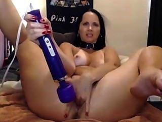 Chica flexibles hitachi fack en el coño