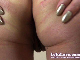 Lelu amor consolador pussy spreading culo puckering closeups