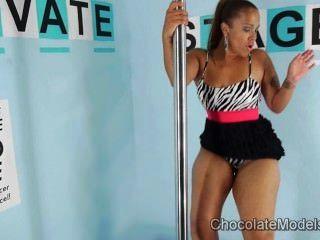 Bailarina scarlett gran botín en estampado de cebra