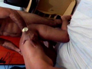 Safada levando pica do marido peludão másculo gostoso