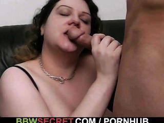 Bbw lo atrae hacia el sexo caliente