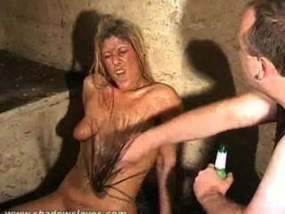 Chicas basura humillación sucia y extraño bdsm de slaveslut sucio