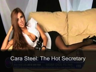C @ r @ st33l: la secretaria caliente